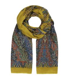 Etro degrade paisley scarf.