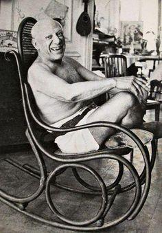 Chez Picasso dans les années 60 à la villa La Californie (Cannes): un…