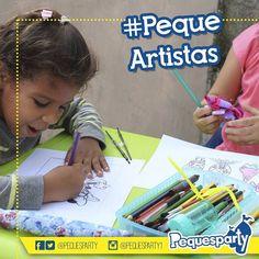 Despierta en tu #peque y sus invitados esa vena artista con nuestro servicio de #fiestas artisticas. PequesParty Fábrica de Sonrisas! #pequesparty #artistas #pequeartistas #dibujo #pintura #artists #mcbo #arte #igersmcbo #vzla #zuliana #activaciones #marketing #cool #yeah #planes #todoincluido