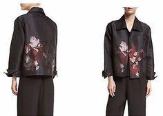 Caroline-Rose-Black-Multi-Flourish-Gala-Border-Jacket-L