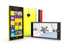 Nokia   Bunte Riesen: Mit Sechs-Zoll-Display gelten das Lumia 1520 (Bild) und das Lumia 1320 als sogenannten Phablets, als Kreuzungen zwischen Smartphones und Tablets.