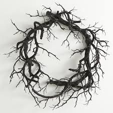 Image result for black and white wreath
