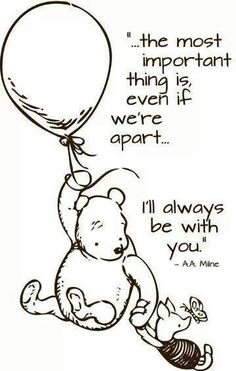 Mom loves Pooh and his little sayings. When I was growing up, Mom had a denim jumper with Pooh and friends on it. Every time I see Pooh, I remember that jumper and her. Christopher Robin Quotes, World Disney, Winnie The Pooh Quotes, Piglet Quotes, Winnie The Pooh Tattoos, Pooh Bear, Me Quotes, Quotes Girls, Daddy Quotes