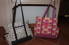 The professional tote from The Creative Thimble makes a great oversize day bag and great gifts.