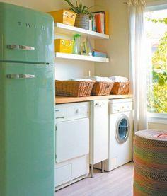 kleine küche mit waschküche