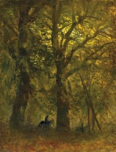 Rider in the forest by LászlóMednyánszky Forest Painting, Art World, Impressionism, Past, Auction, Baron, History, Nature, Artist