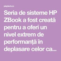 Seria de sisteme HP ZBook a fost creată pentru a oferi un nivel extrem de performanță în deplasare celor care au nevoie de așa ceva. Noua stație de lucru ultraportabilă este HP ZBook Studio X360 G5.