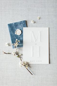What Harry And Meghan's Wedding Might Look Like If They What Harry And Meghan's Wedding Might Look Like If They Eloped wedding invitations with embossed monogram - Embossed Wedding Invitations, Minimalist Wedding Invitations, Wedding Stationary, Wedding Invitation Wording, Invitation Design, Invitation Cards, Invites, Wedding Goals, Wedding Planning