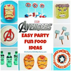 Avengers Party Food