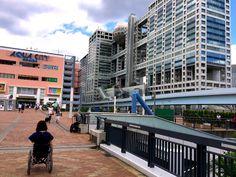 Moon Rider 7 Project: 車イスの彼女 in お台場 / Moon Rider Girlfriend in Odaiba
