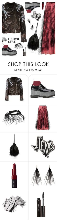 """Pack and Go: SXSW"" by sproetje ❤ liked on Polyvore featuring Hollywood Trading Company, Givenchy, Ann Demeulemeester, Valentino, Attico, Primitives By Kathy, Bobbi Brown Cosmetics, Yves Saint Laurent, StreetStyle and festivalstyle"