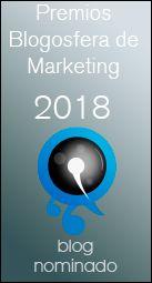 Blog nominado a los Premios Blogosfera de Marketing, octubre 2018.