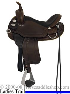 15inch 16inch Crates Light Ladies Trail Saddle 2172 Equi-Fit Tree