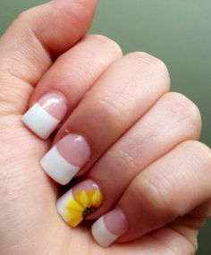 Hey there lovers of nail art! In this post we are going to share with you some Magnificent Nail Art Designs that are going to catch your eye and that you will want to copy for sure. Nail art is gaining more… Read French Tip Nail Designs, Simple Nail Art Designs, Short Nail Designs, Nail Designs Spring, Easy Nail Art, Spring Design, Spring Nail Art, Spring Nails, Summer Nails