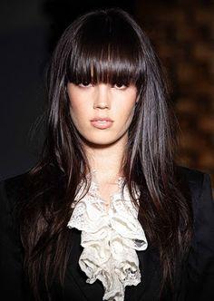 Peinados Rizos y Trenzas: Elegantes Cortes de Pelo Largo Ideas de Moda para el 2013