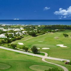 "Located on the island of Barbados encompassing a former rock quarry and luxuriating across a field where green sugar cane once bent in the trade winds Royal Westmoreland's Robert Trent Jones II golf course replaced the old staple with a sweet new crop of golf holes. Describing our philosophy of natural design as applied to this site Robert Trent Jones Jr. says ""When a natural element of the land affords the opportunity for drama-like the quarry here at Royal Westmoreland-you don't need to…"