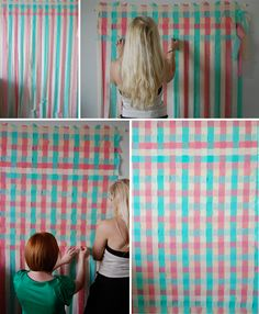 Checkered Photo Backdrop