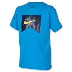 Boys' Nike HD Core Logo T-Shirt| FinishLine.com | Blue Hero