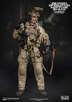 "Product Announcement DAMTOYS ELITE SERIES NO.78011- 1/6 DEVGRU Operation Neptune Spear ""GERONIMO"" - OSW: One Sixth Warrior Forum"