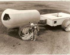 Grumman Lunar logistique Project System 34, 1963.