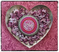 Love Mandala Stone