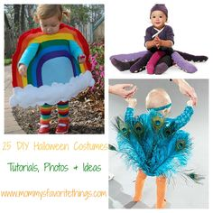 Mommy's Favorite Things: 25 DIY Halloween Costumes