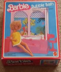 I loved anything Barbie.  This was one of my favorites--it really bubbled!