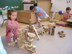 construccions amb troncs