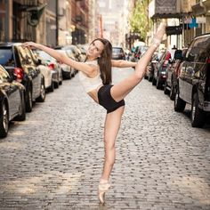 I do ballet, tap, jazz, and hip hop. This would be a good pose for a performance!