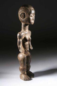 La statue Bété ou la puissance de L' art africain