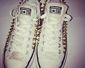 Studded and sparkled sneakers! For when you want to shimmer and stand out!