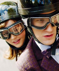 The Doctor and Clara! I loved the chemistry between these two. Might just have to paint this...
