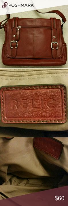 👜Sale👜 Beautiful Relic Vegan Leather Handbag Relic perfect condition never used Relic Bags Crossbody Bags