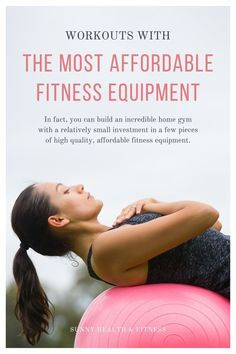 You don't need to spend thousands on fitness equipment to get an incredible workout at home. In fact, you can build an incredible home gym with a relatively small investment in a few pieces of high quality, affordable fitness equipment. Below, I've collected a few of our top-selling affordable equipment options, along with some of our favorite workouts to follow along with at home! #sunnyhealthfitness #workouts #affordablehomegym #homegym #fitnessequipment