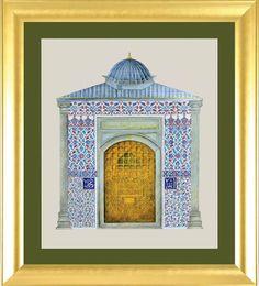eyüp sultan Hacet Kapısı Minyatür Feyza ŞEN
