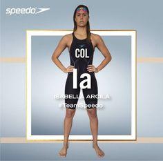 Atleta Team Speedo Colombia y primera mujer en nuestro País en bajar de los 26 segundos en 50m libre. Ha participado en 5 mundiales y posee 4 récords nacionales. #TeamSpeedoCol