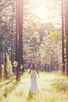 Forest Wedding. I Want One So Bad!