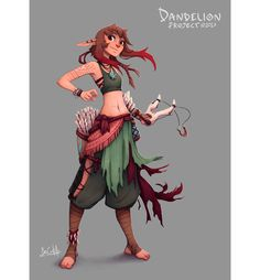 ArtStation - Dandelion project - Ilse, Bea Castillo