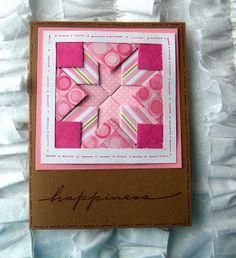 Shoregirl's Creations: Layered Paper Quilt Cards
