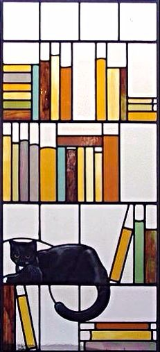 Black Cat | Stained Glass