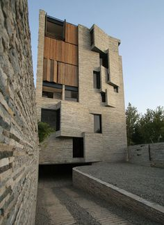 A favorite of mine for a long time. Apartment No. 1 by AbCT, Mahallat, Iran.