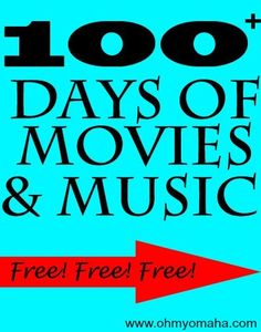 100+ days of free music and concerts in Omaha - great list for families