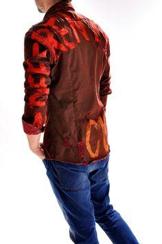 Camasa handmade pentru barbati C3266X, marca Different Cut