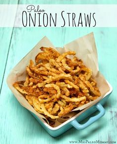 These crispy litte fellas made the perfect topping for my BBQ loaded sweet potatoes. Well…..what was left of them, after my husband ate half the batch I see a great future in store for this recipe. Obviously, they make an awesome appetizer. I'm also thinking a green bean casserole is in order. Oh boy,…