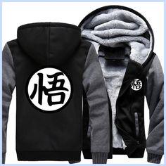 fashion autumn winter 2017 men jacket Dragon Ball Z Baseball Son Goku Costumes Anime drake black Halloween Hoody Goku Sweatshirt