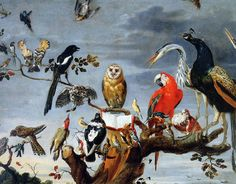 Snyders, Frans: Concert of Birds 1630s The Hermitage, St. Petersburg
