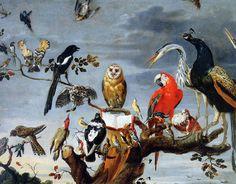Snyders, Frans: Concert of Birds 1630s The Hermitage, St. Petersburg