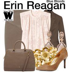 Inspired by Bridget Moynahan as Erin Reagan on Blue Bloods.