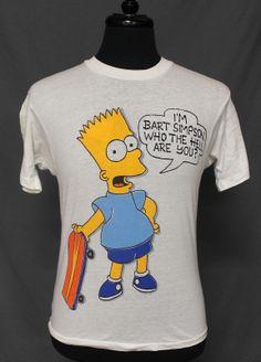 vintage Bart Simpson t shirt