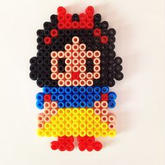 Snow White hama beads by cynthiacreation
